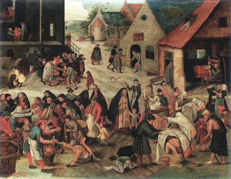 Brueghel Allegoria dei quattro elementi -