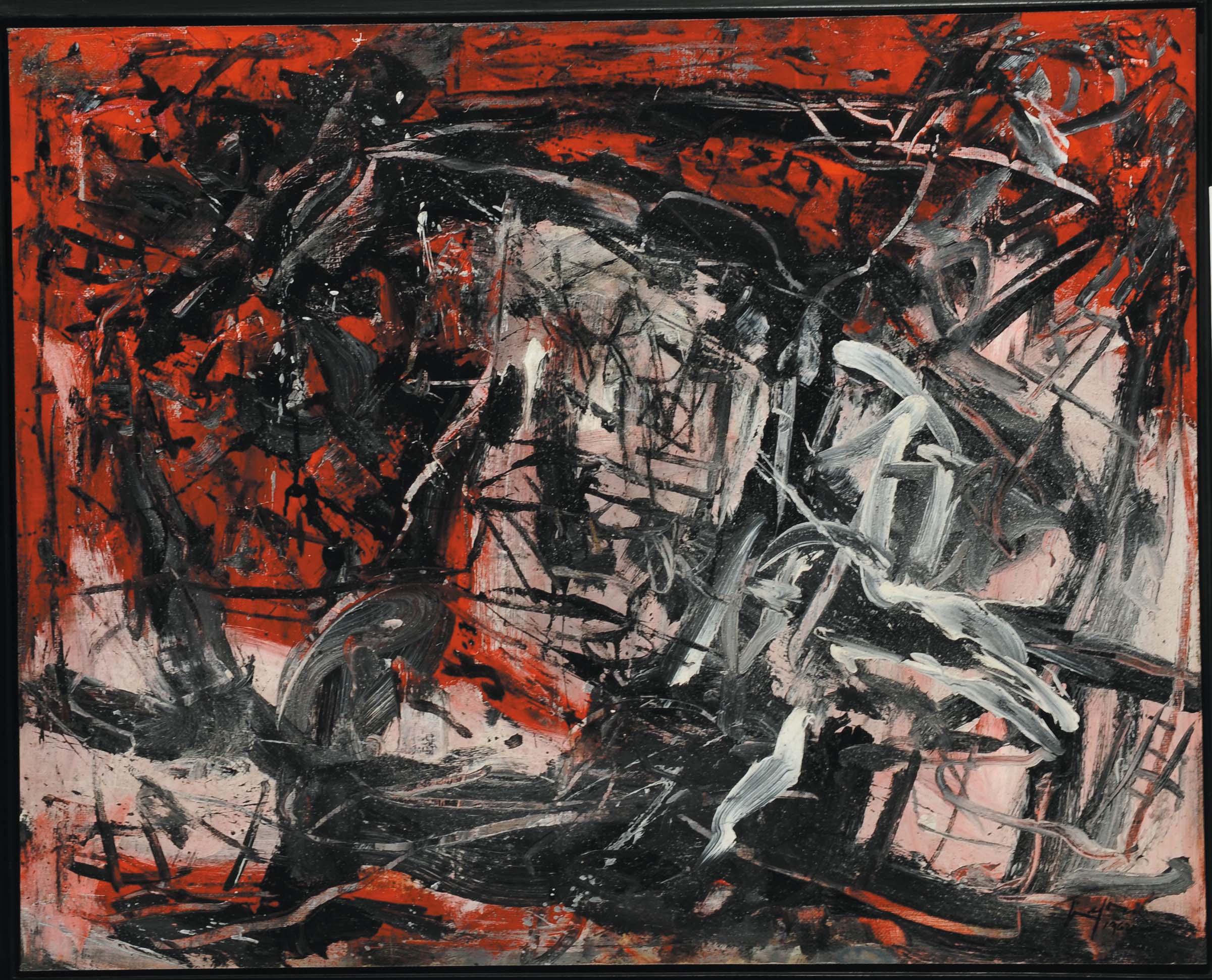 Senza titolo - Emilio Vedova, 1962
