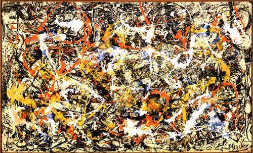 Convergence. Jackson Pollok, 1952