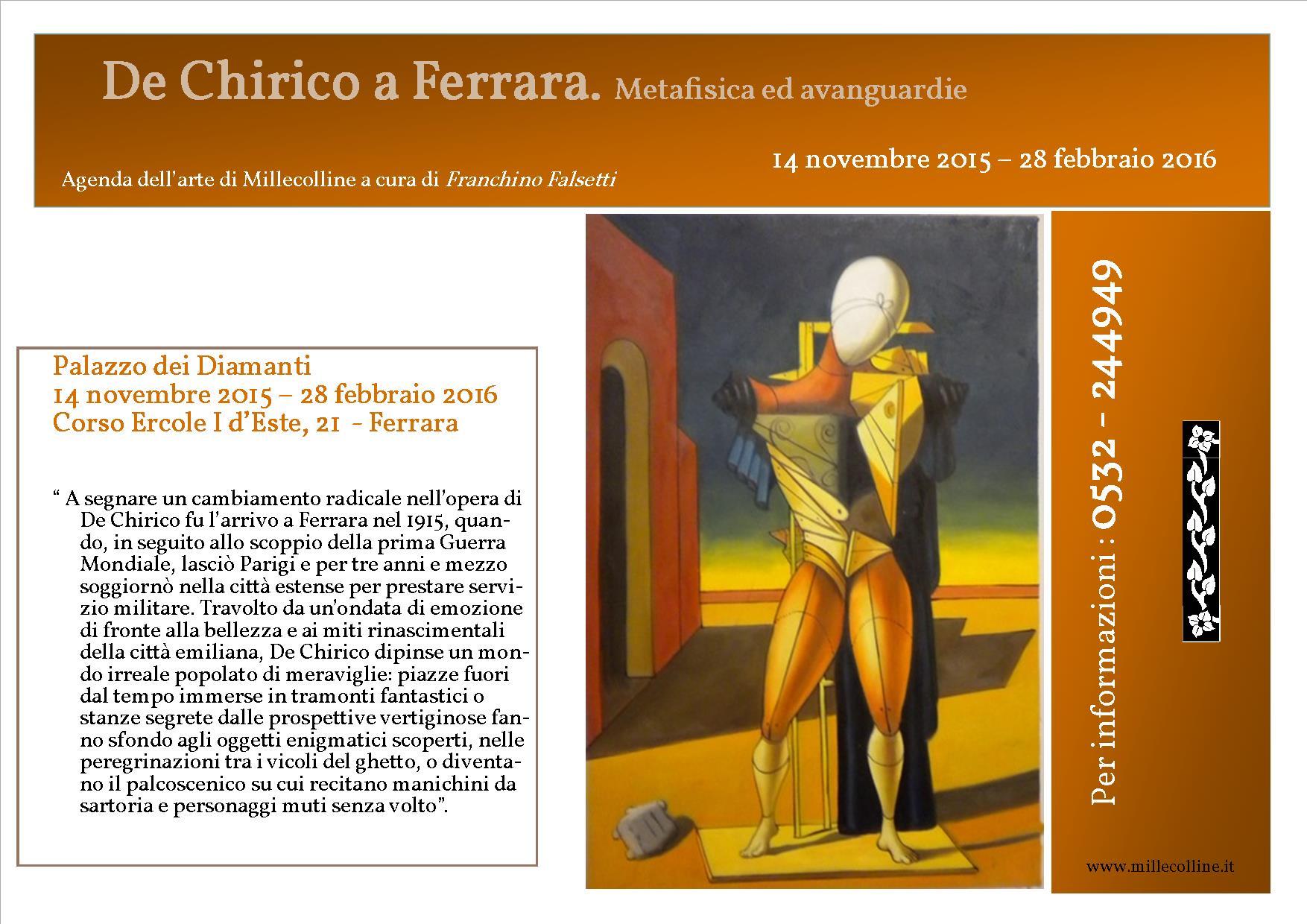 Agenda - De Chirico