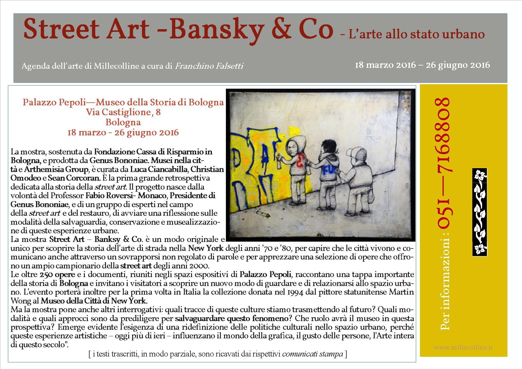 Agenda - Bansky