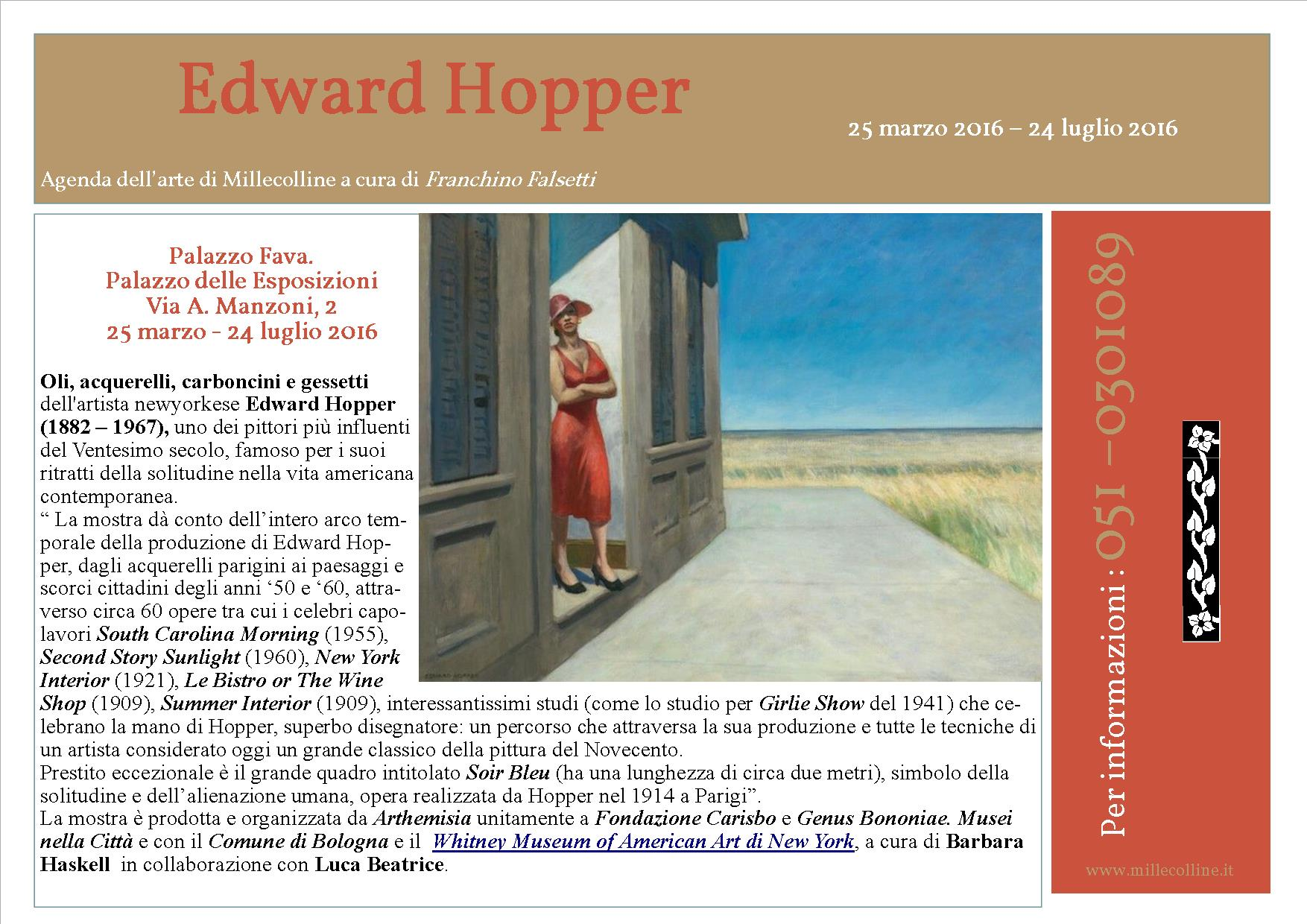 Agenda - Edward Hopper