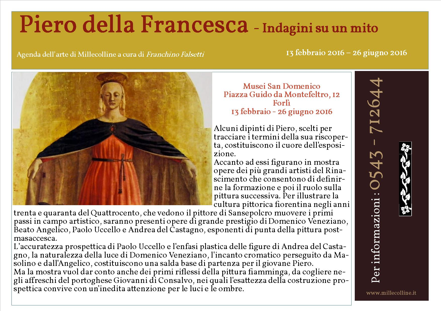 Agenda - Piero della Francesca