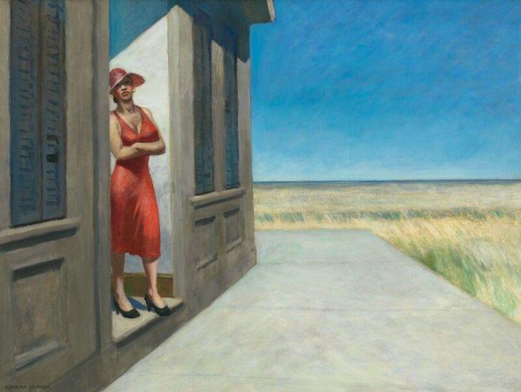 Edward-Hopper South-Carolina-morning1955
