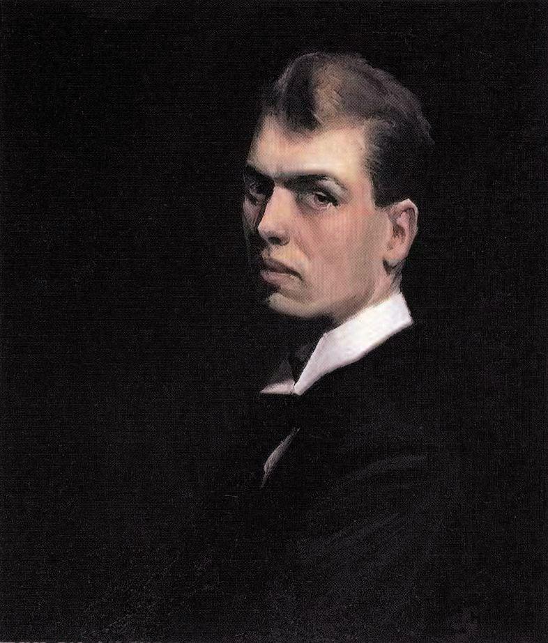 Autoritratto. Edward Hopper.