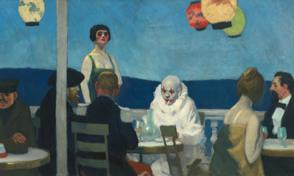Hopper -Soir Bleu - 1920