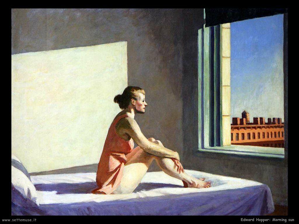 Morning sun. Edaward Hopper.