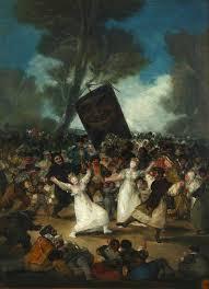El entierro de la sardina - Francisco Goya
