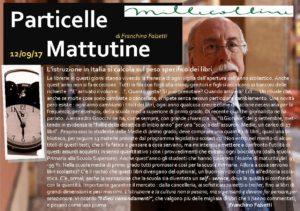 Particelle Mattutine del 12 settembre