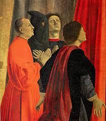 Piero Della Francesca - Polittico della Misericordia (dettaglio)