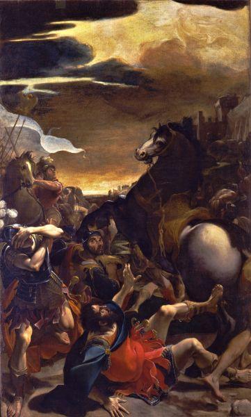Conversione di Saulo - Ludovico Carracci